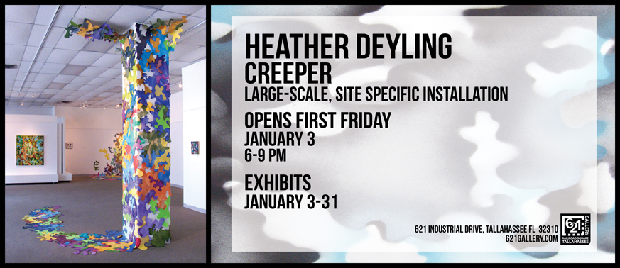 January 2014 at 621 Gallery