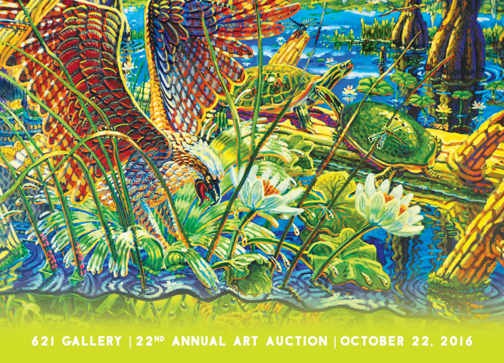 October 2016 at 621 Gallery: 22nd Annual Art Auction!