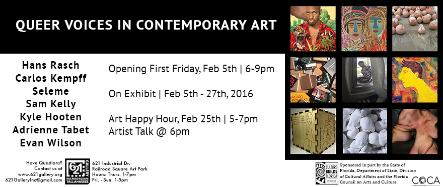 February 2016 at the 621 Gallery