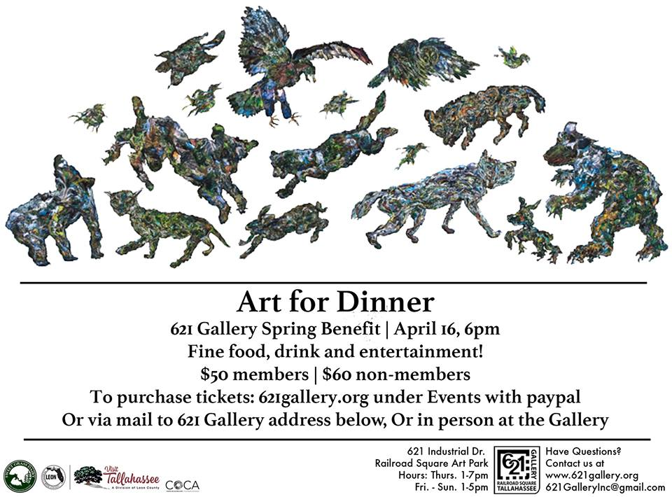 621 Gallery Art for Dinner 2016