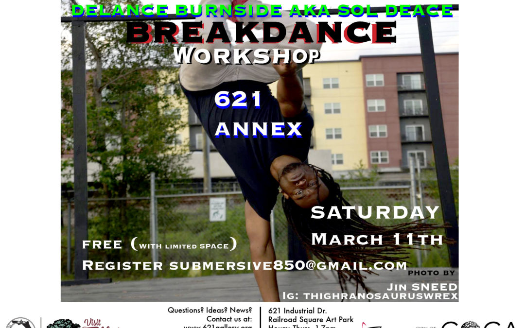 Learn to Breakdance with Delance Burnside