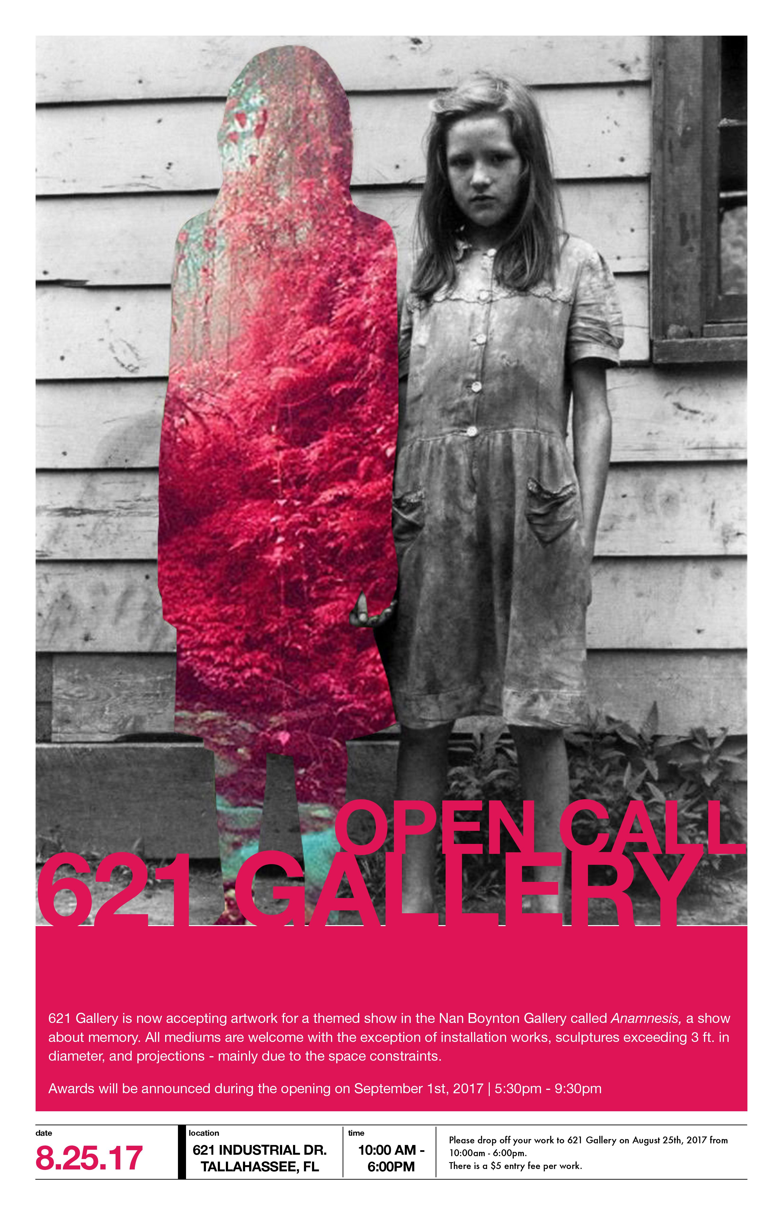 Open Call for 'Anamnesis' | 621 Gallery